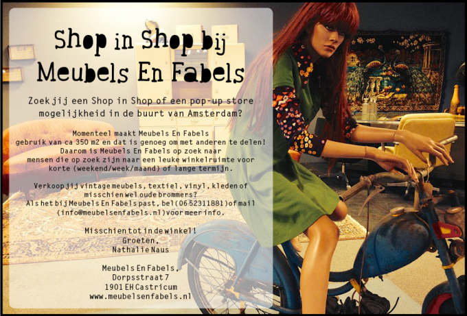 Shop in Shop advertentie!